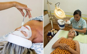 Mother Cleansing deep facial spa video