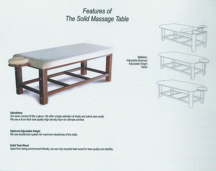 PRDO Solid Massage Table