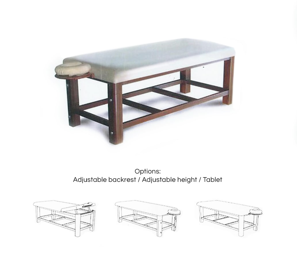 Features of the solid massage table