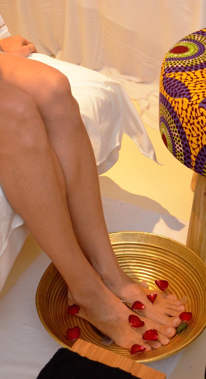 Crystal aromatheraphy foot reflexology - Espace spa bali