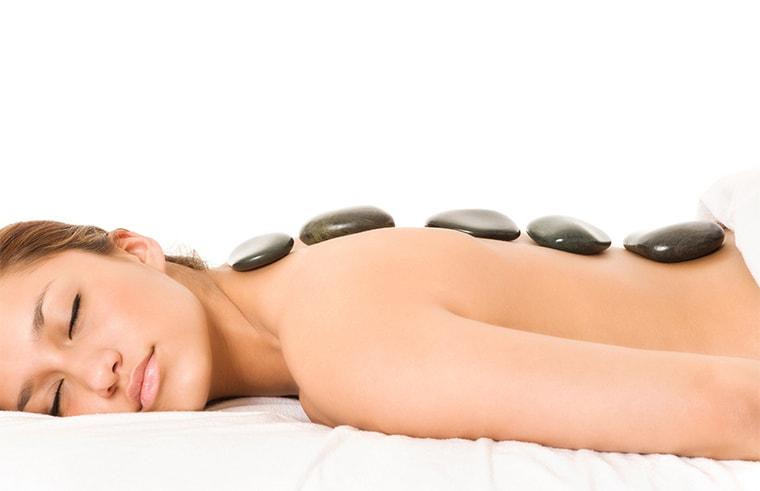 Warm stones massage - Espace spa bali
